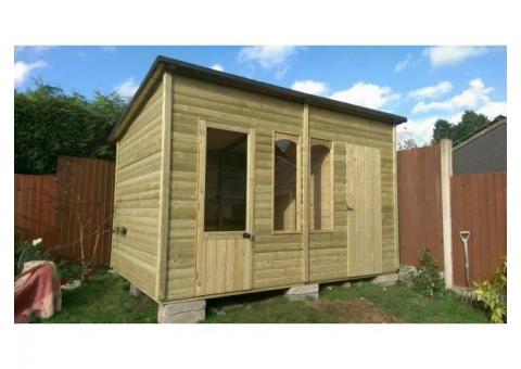 Bespoke Heavy Duty Garden Sheds / Pressure Treated Built To Last